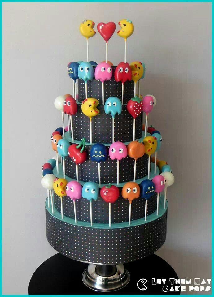 Ms Pacman Cake Pops By Let Them Eat LetsEatCakePops