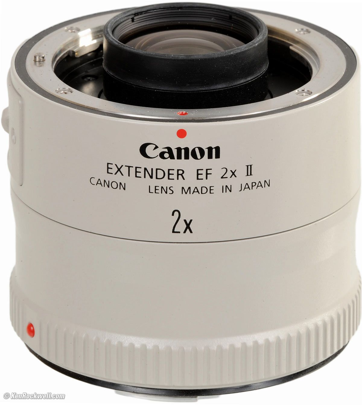 Canon Extender 2x II (2001-2010) (Full-frame, 1.3x and and APS-C ...