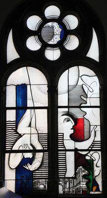 Joachim Klos Jonafenster 1974 Fenster In Der Kapelle Stained