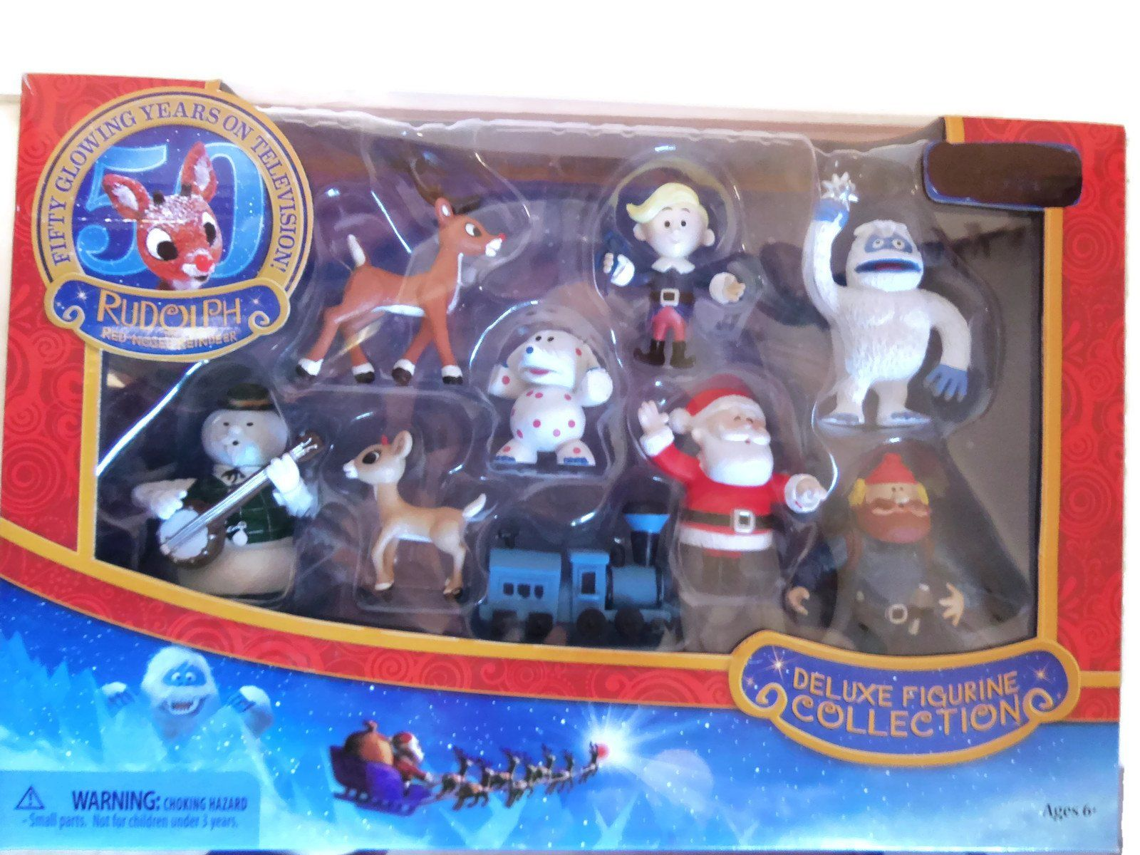 Rudolph the Red-Nosed Reindeer Deluxe Figurine Collection