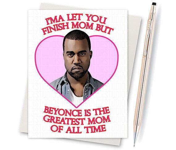 mothers day card kanye west kanye loves