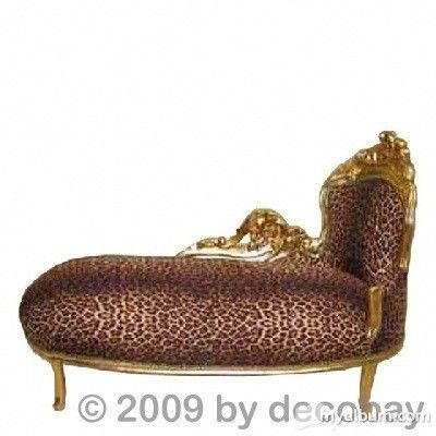 Recamiere chaiselongue  Recamiere Chaiselongue Barock Sofa Ottomane rechts le go   Home ...