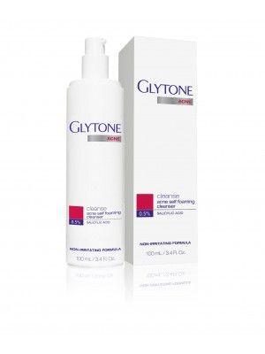 Acne Self Foaming Cleanser Glytone Acne Foam Cleanser Acne Cleanse