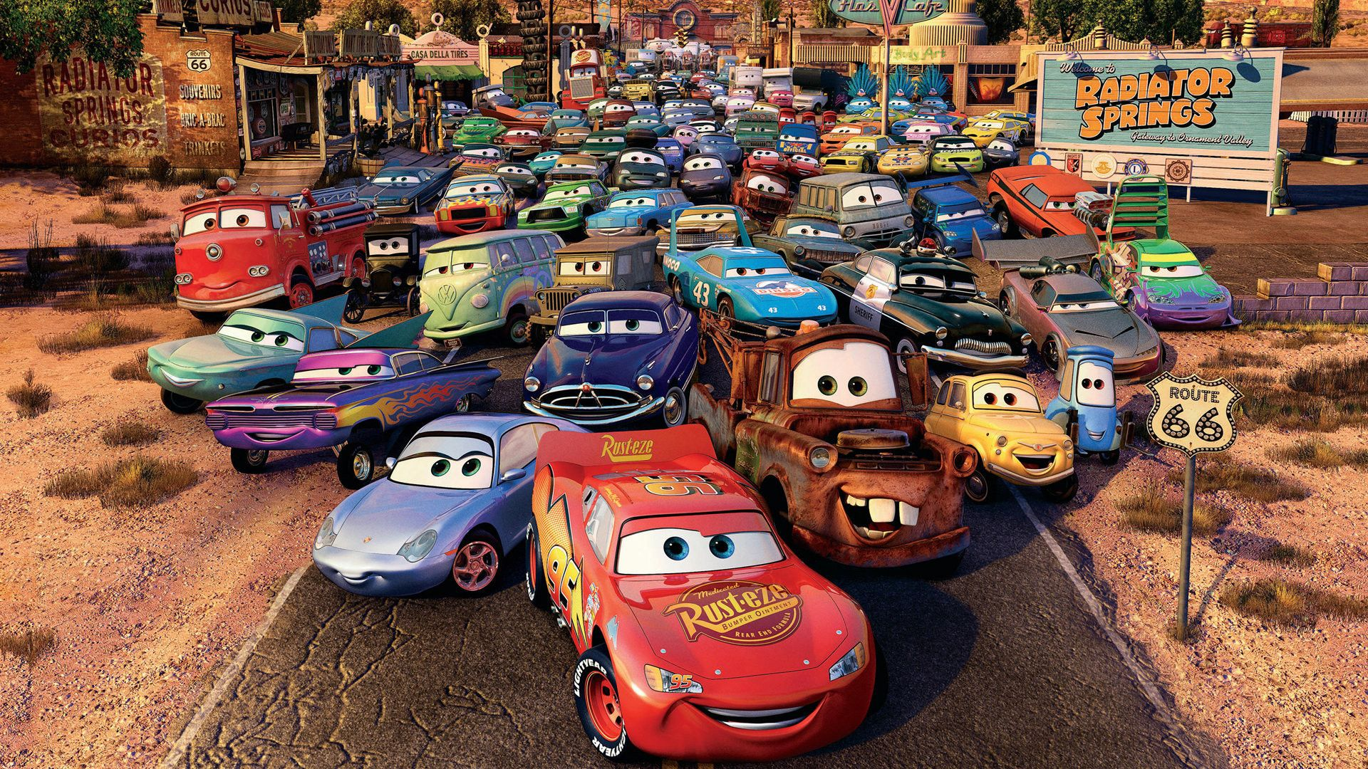 Cars Cartoon Movie Part 1 HD Wallpapers (With images