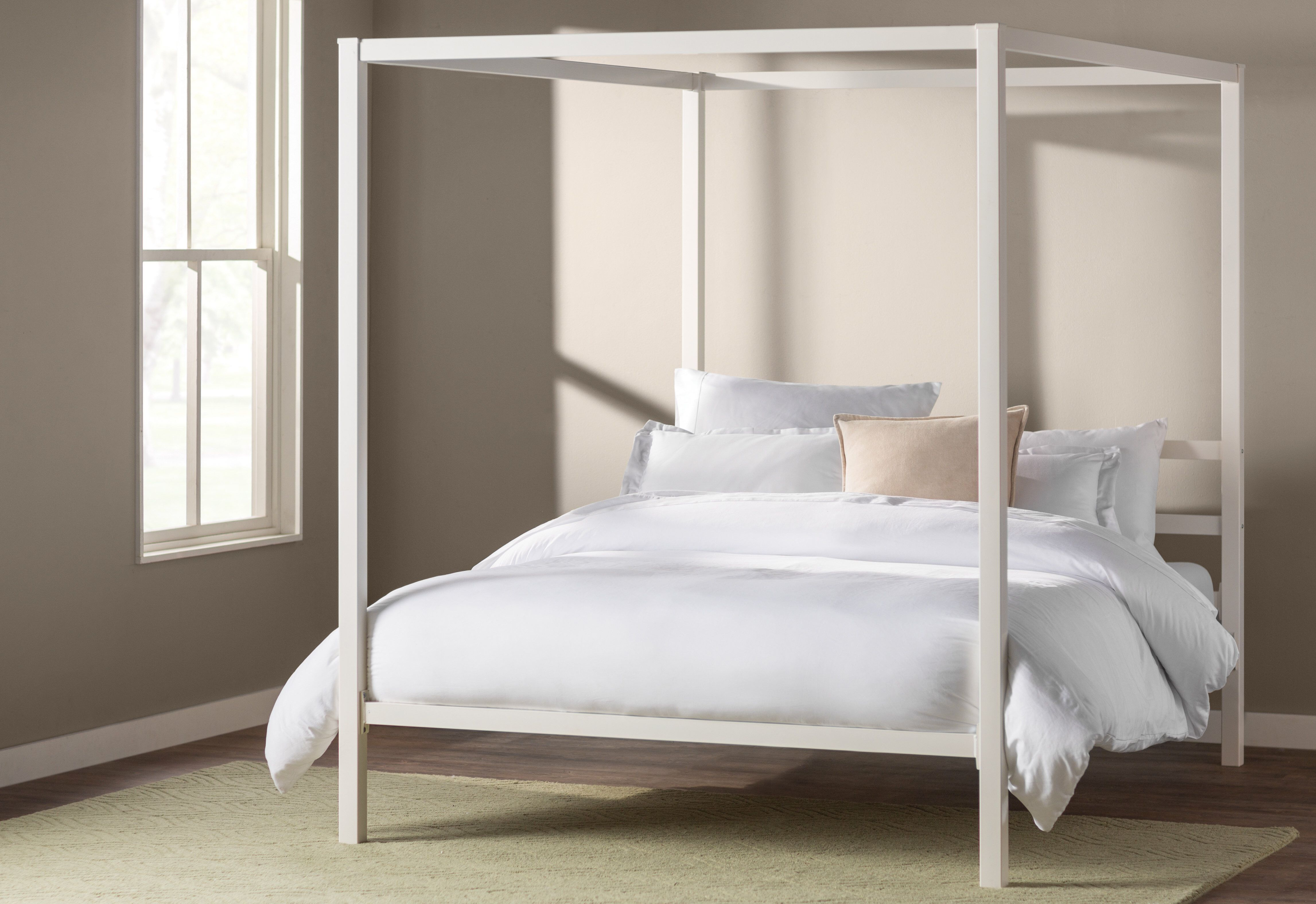 Stanley Canopy Bed Queen canopy bed, Twin canopy bed
