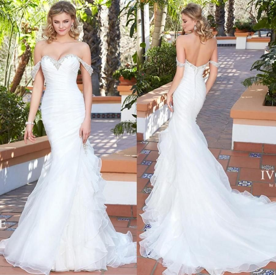 Image result for sweet heart top wedding dress with off the shoulder