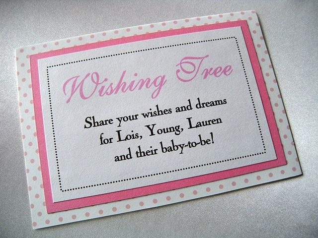 Wishes For Baby Showers ~ Wishing tree baby shower sign babies candy baby showers and