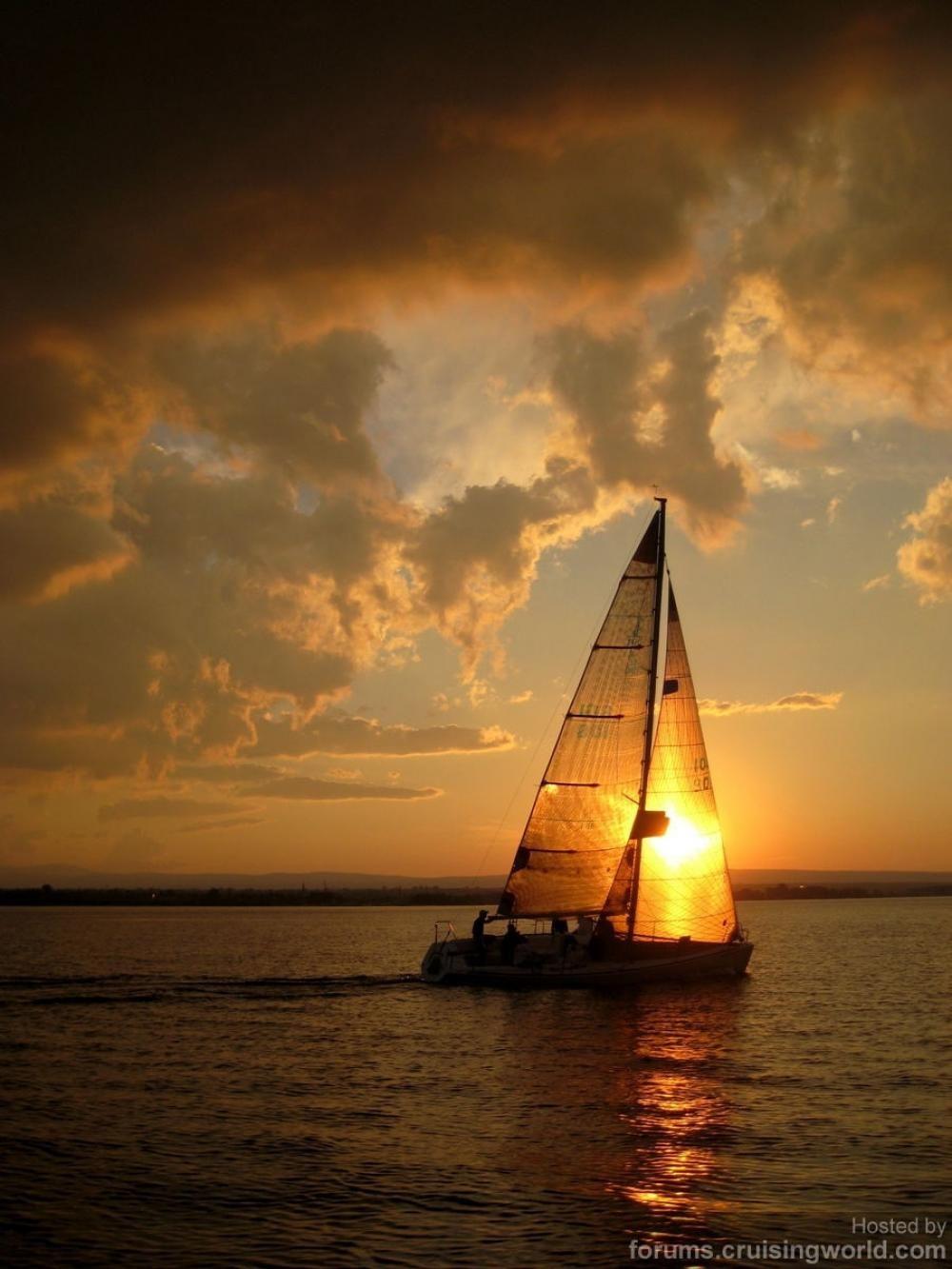 Boat, Sailing, Sail Away