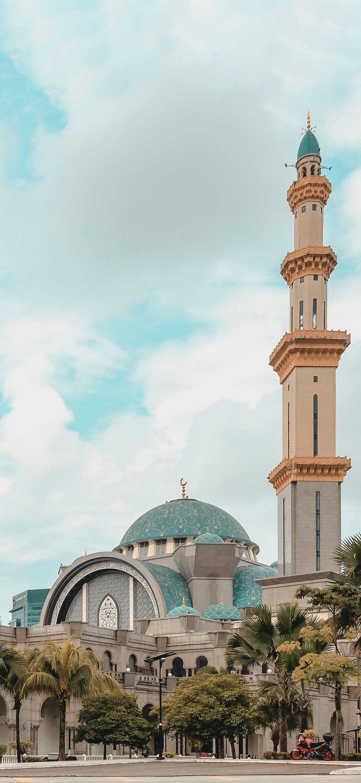 Federal Territory Mosque Masjid Wilayah Persekutuan Islamic Wallpaper Islam Islamicwallpaper Mecca Wallpaper Islamic Wallpaper Hd Islamic Wallpaper