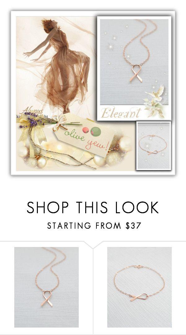 """OliveYew.1"" by samirhabul ❤ liked on Polyvore featuring moda, handmadejewelry e oliveyew"