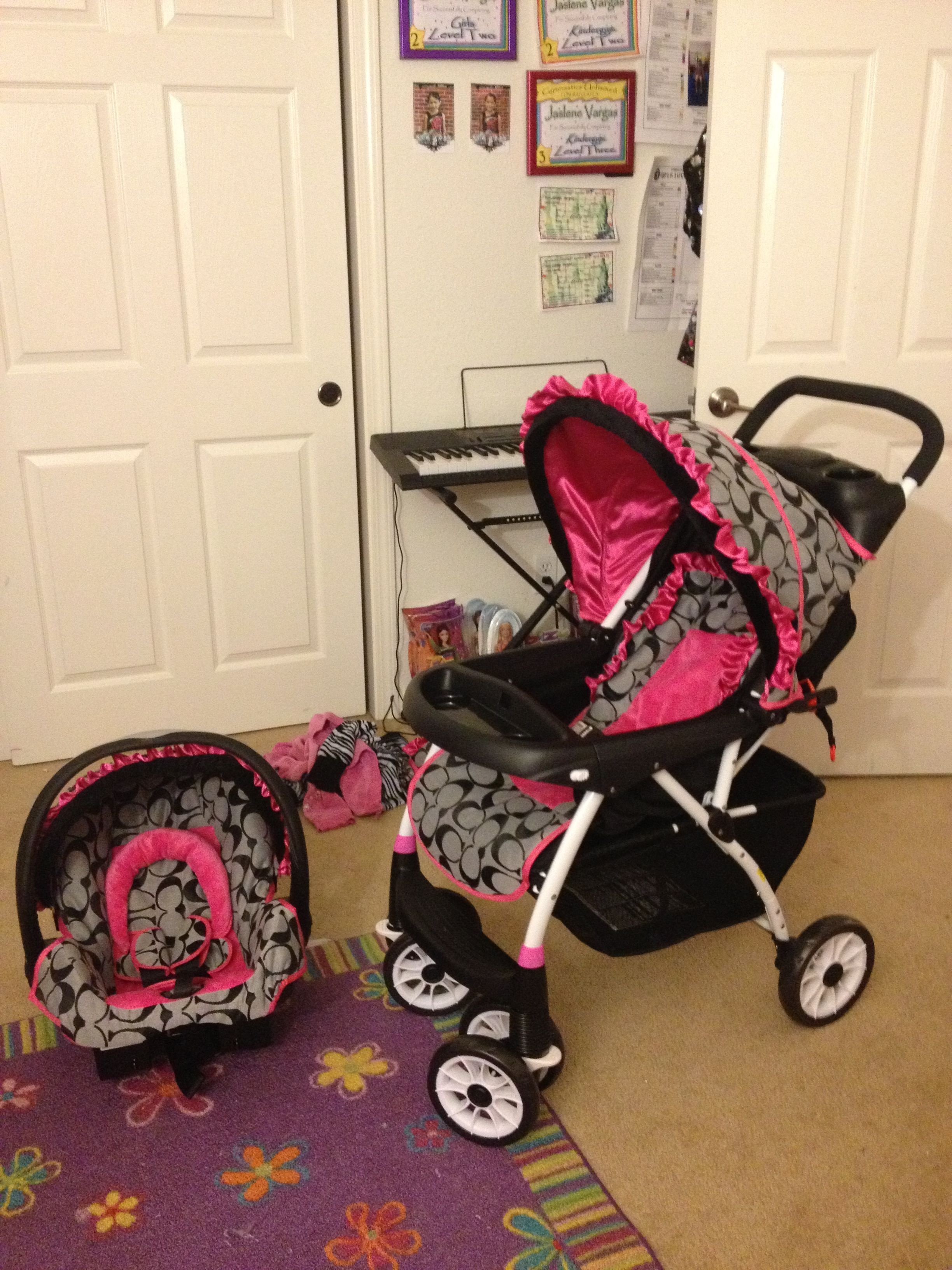 Coach Stroller And Carseat Baby Items Pinterest Baby Strollers