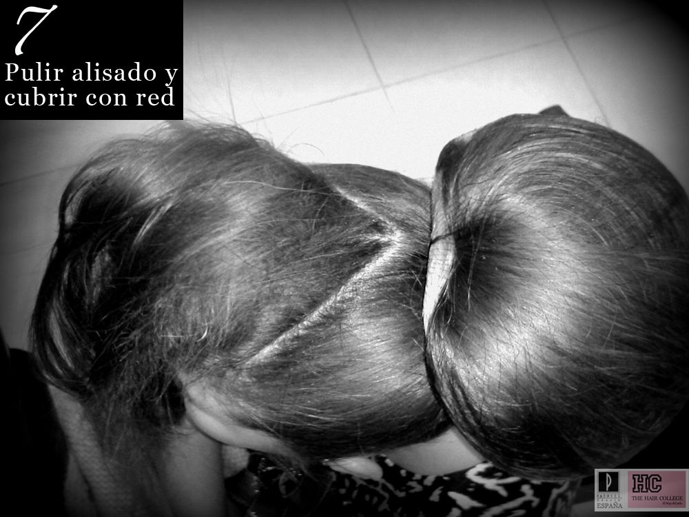 Le Chignon step by step: THE HAIR COLLEGE BLOGSPOT