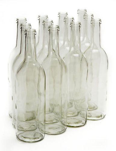 85738c189272 Wine Bottles 750 mL Clear Bordeaux (Case of 12) | I do, things ...