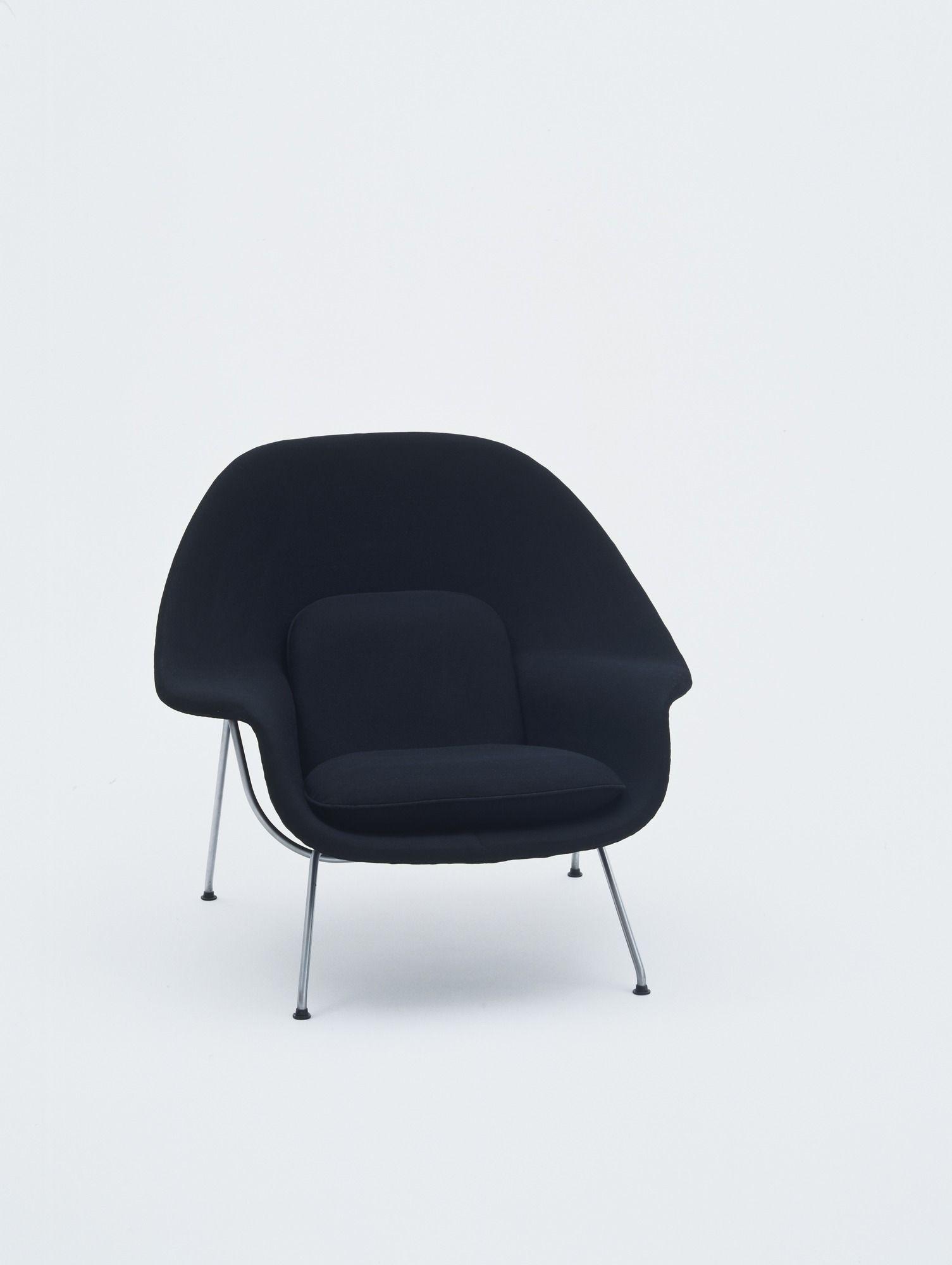 Eero Saarinen Womb Chair 1946 Chairs Pinterest Womb Chair  # Muebles Eero Saarinen