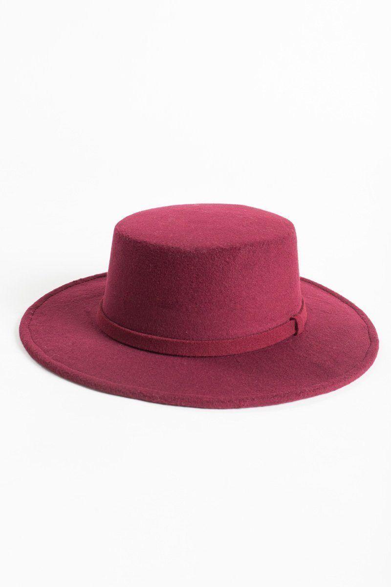 164c10b10 Henriette Burgundy Hat in 2018 | Fall Favorites | Pinterest | Hats ...