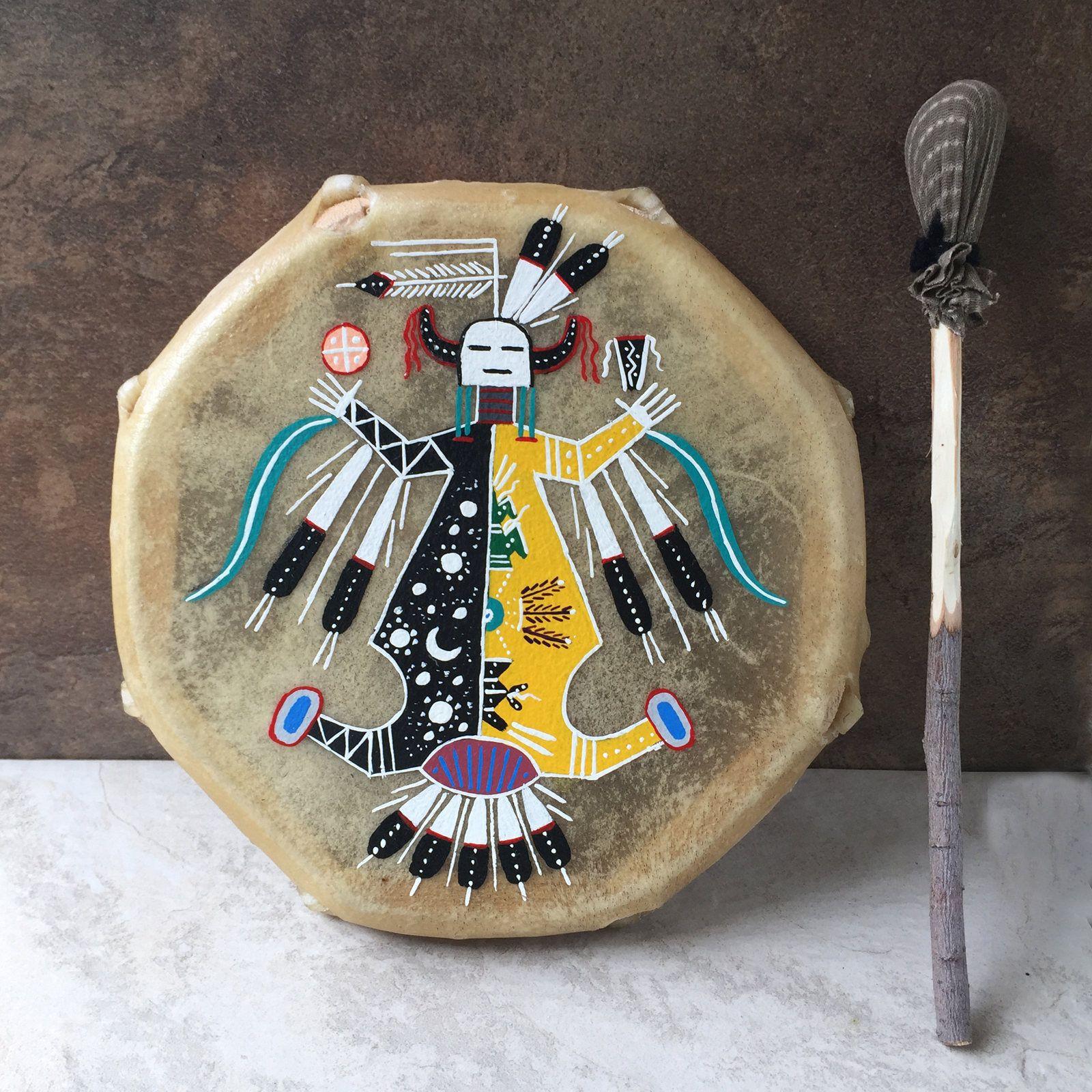 Navajo fetish necklace native american corn maiden fetish necklace handmade