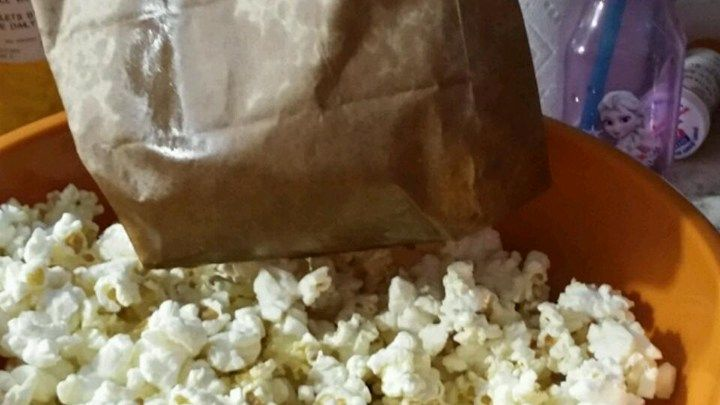 Believe It Or Not You Can Make Your Own Delicious Low Fat Microwave Popcorn Using Standard Popping Corn And A Brown Paper Lunch Bag Works Perfectly