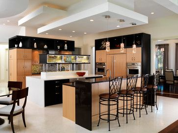 drop down ceiling kitchen design ideas pictures remodel and decor - Down Ceiling Design For Kitchen
