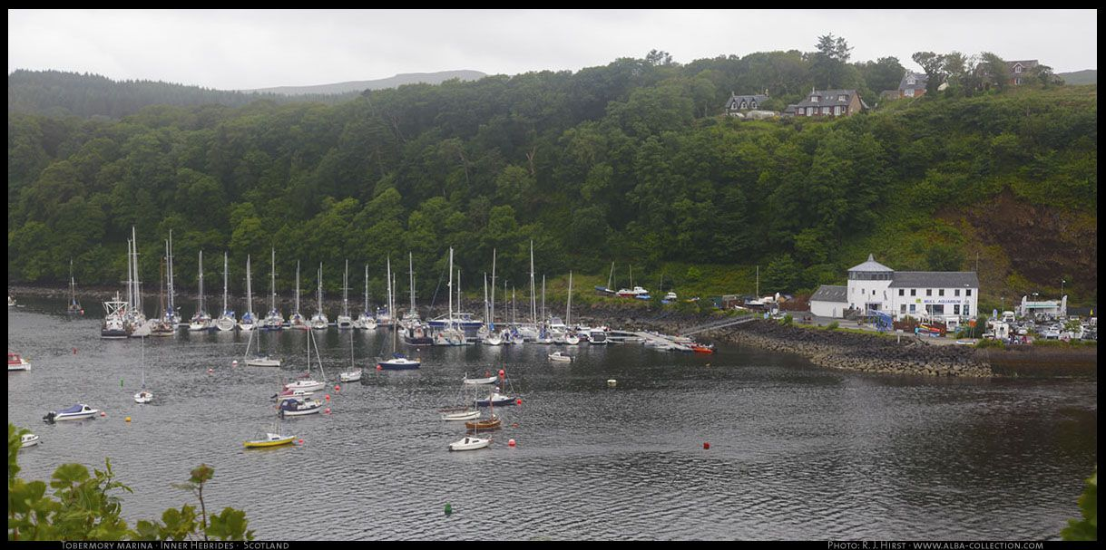 Tobermory Marina · Tobermory · Isle of Mull · Scotland