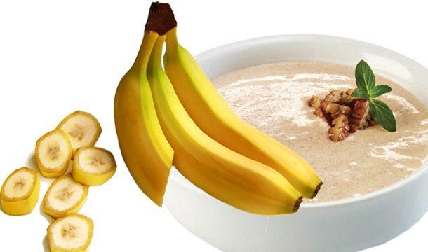 El resultado de combinar el plátano con las nueces