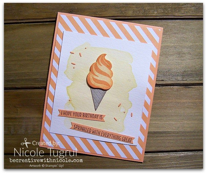 cool treats becreativewithnicole  card craft cards
