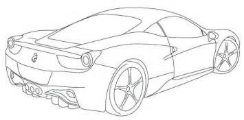 Ferrari Italia F12 Coloring Page Ryan Pinterest Coloration Bilder