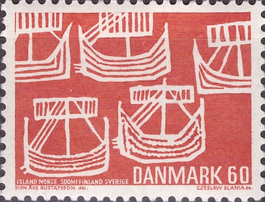 Resultado de imagen de Viking philately / Denmark