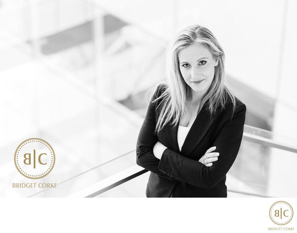 Bridget Corke Photography Corporate Portrait Of Lauren Callie