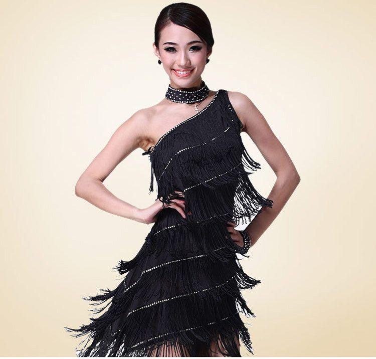 latin dance dress women dresses for dancing sexy tassel dance dresses skirts womens 5colors free shipping