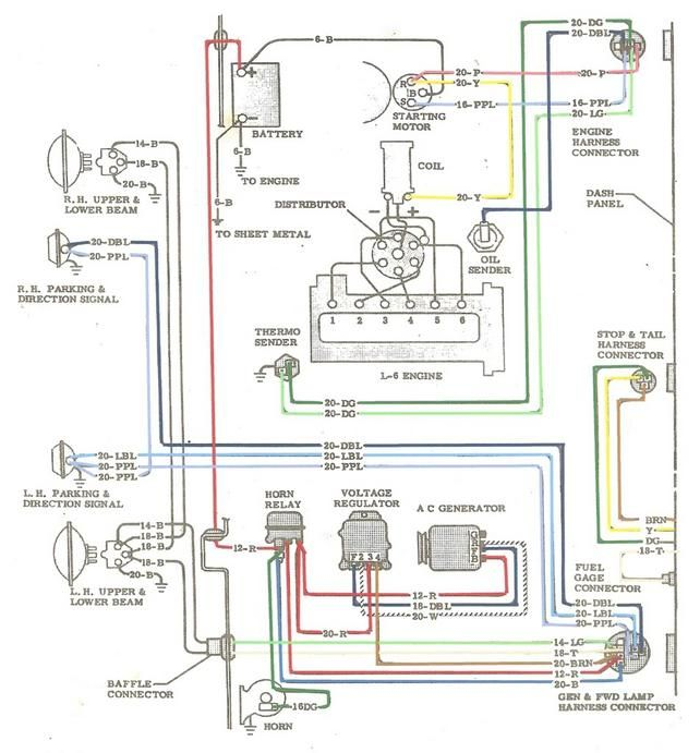 Wiring Diagram For 1972 Chevrolet C10 Truck