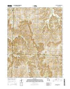 ~ Chapel Hill MO topo map, 1:24000 scale, 7.5 X 7.5 Minute, Current, 2014