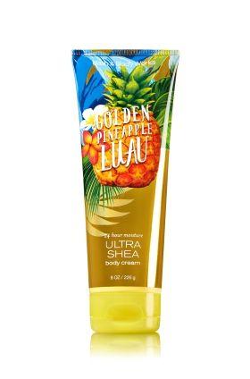Golden Pineapple Luau Ultra Shea Body Cream Signature