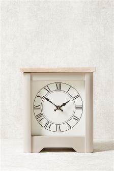 Hampton Wooden Mantle Clock | Home | Pinterest | Decorative ...