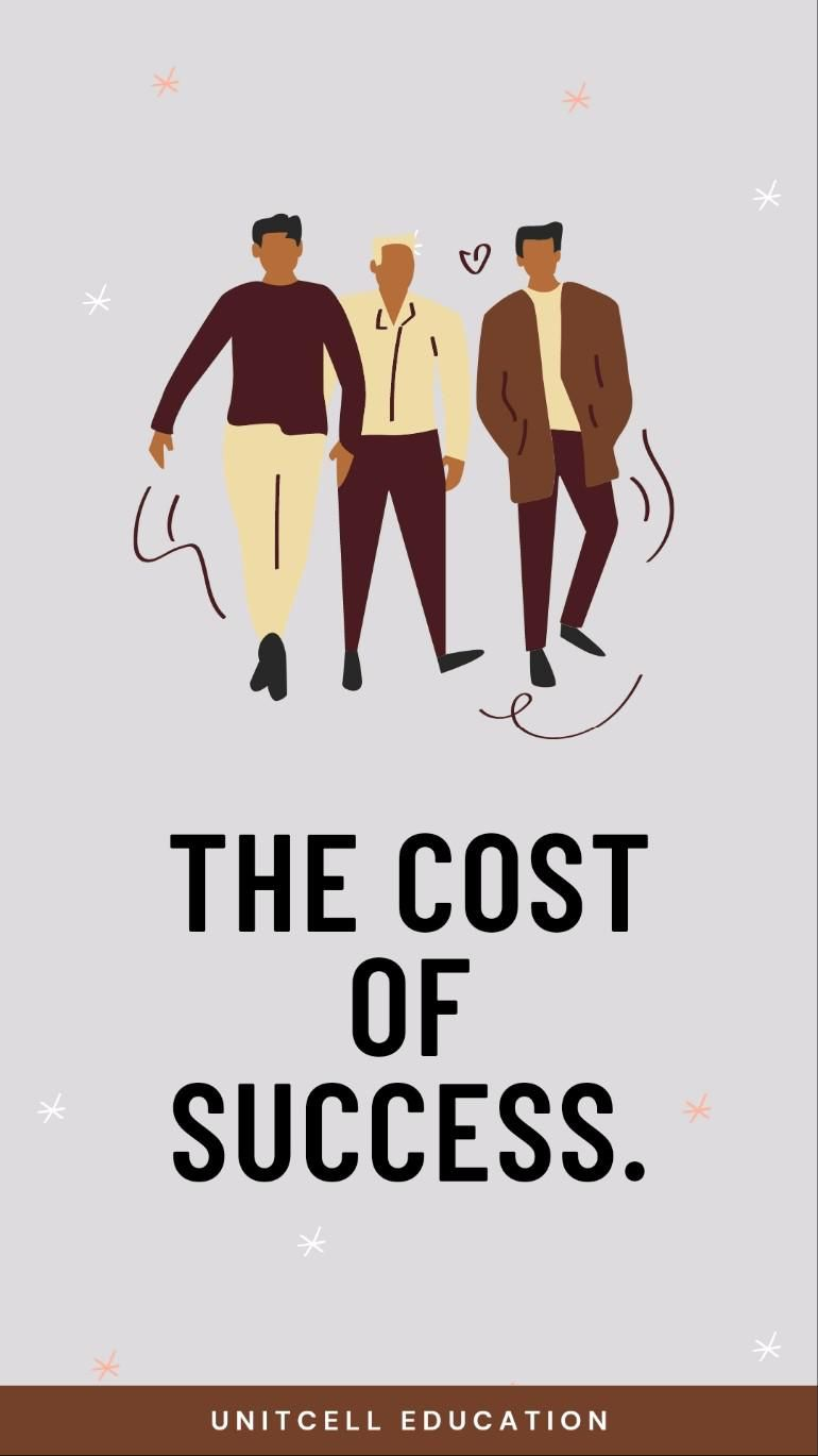 The cost of success.