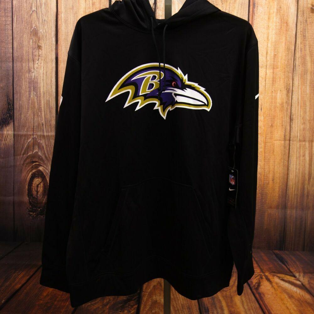 Predownload: New Nike Mens Black Therma Nfl Baltimore Ravens Sweatshirt Pullover Hoodie 2xl Nike Hoodie Pullover Sweatshirts Sweatshirts Pullover Hoodie [ 1000 x 1000 Pixel ]