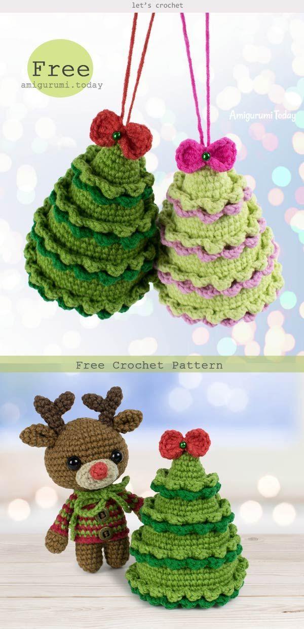 Crochet Twinkle Christmas Tree Free Pattern Christmas Crochet Patterns Free Crochet Christmas Ornaments Free Crochet Christmas Ornaments Free Pattern