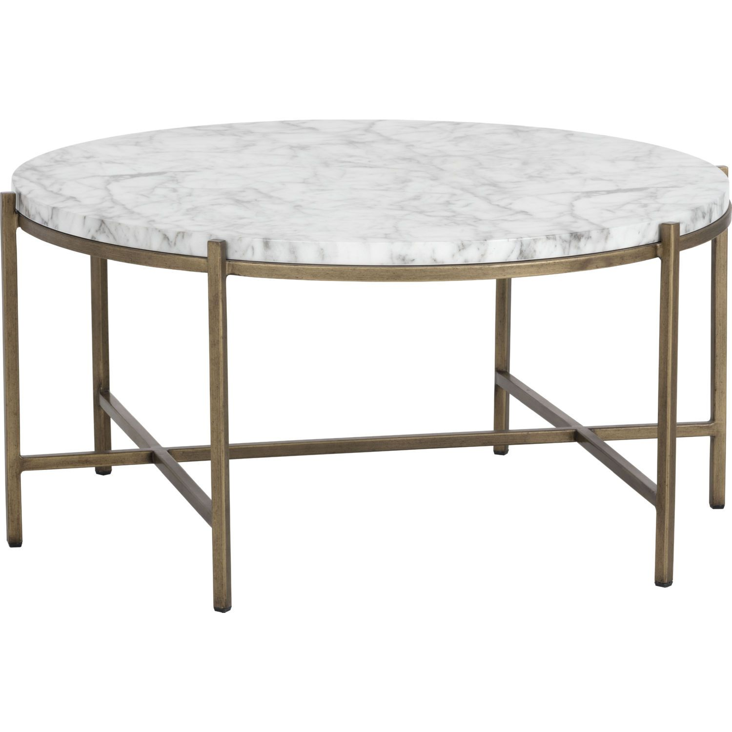 Kate Spade New York Marble Coffee Table White Brass Floor Sample Coffee Table Modern Furniture Decor Marble Top Coffee Table [ 1500 x 1500 Pixel ]