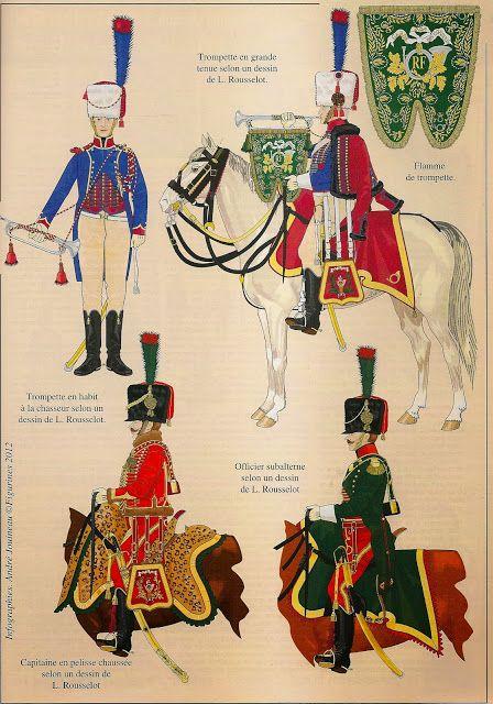 Miniaturas Militares Por Alfons Cànovas Les Chasseurs á Cheval De La Garde Des Consuls Por Olivier Lapray Infografias De Andre Arte Militar Napoleón Militar