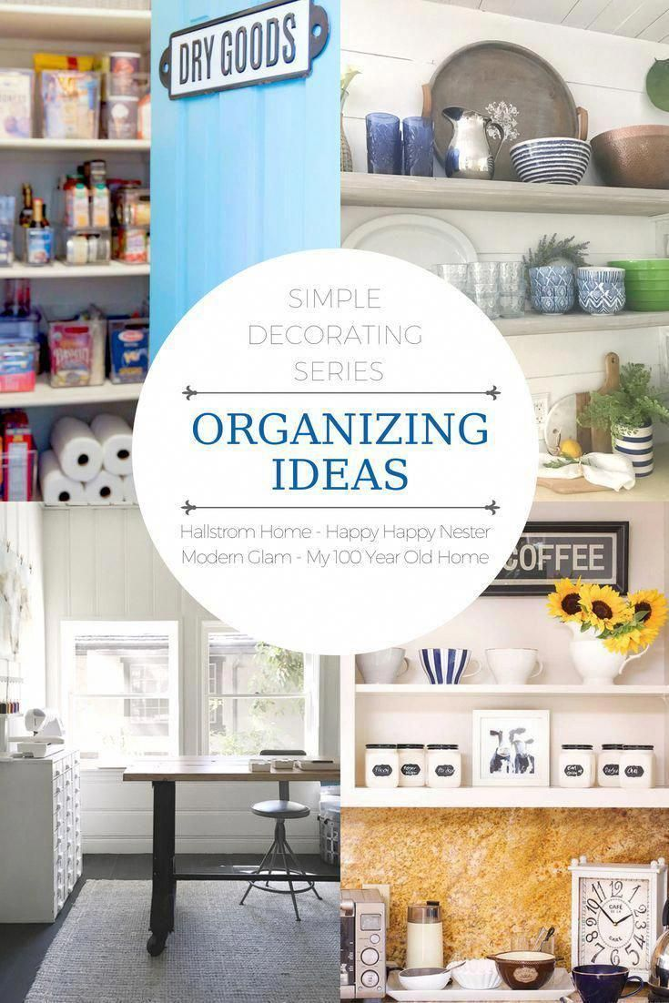 Organizing Ideas. Check out these 4 bloggers sharing their organized spaces and tips with you! #kitchenorganization #bathroomorganization #summerhomeorganization Organizing Ideas. Check out these 4 bloggers sharing their organized spaces and tips with you! #kitchenorganization #bathroomorganization #summerhomeorganization
