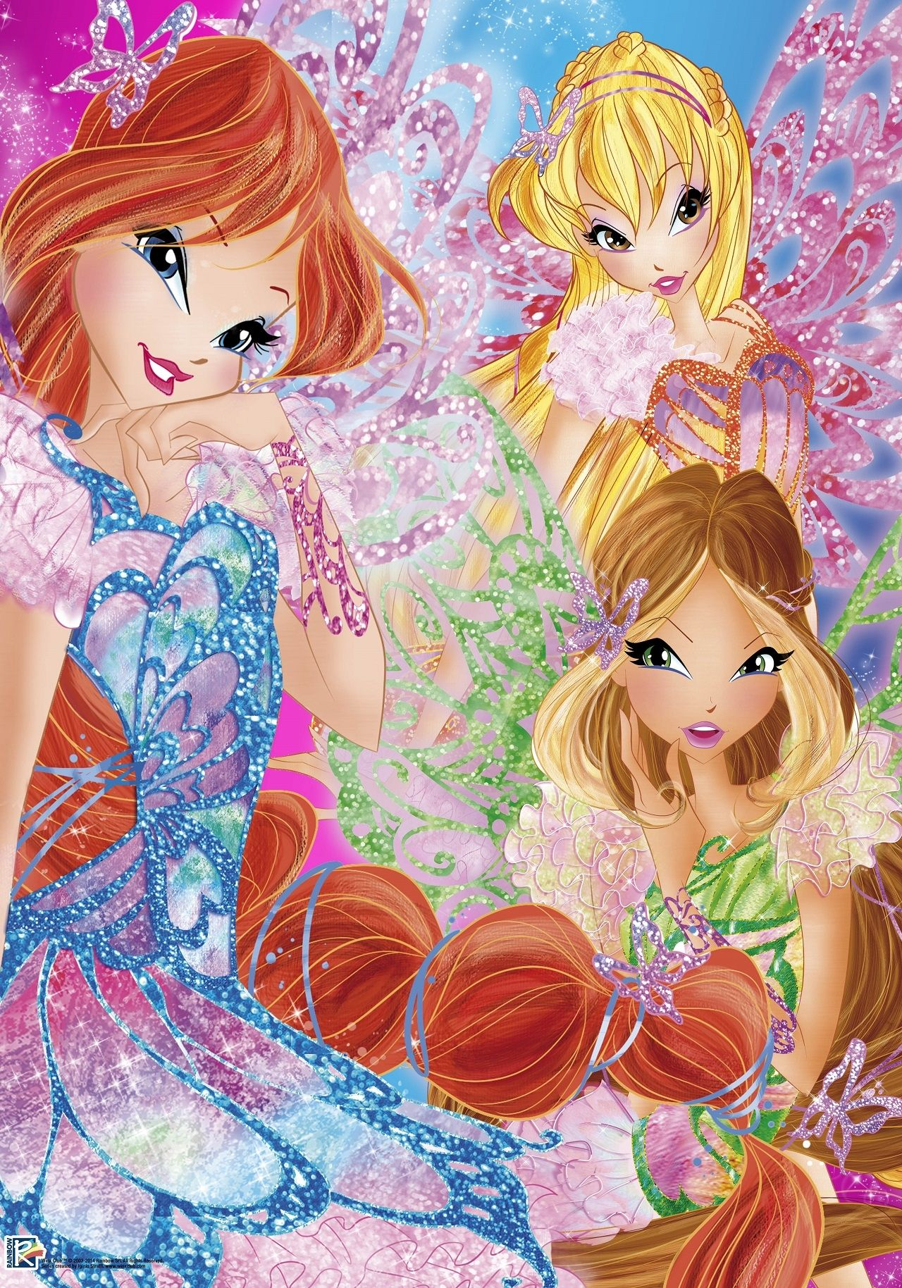 New High Quality Image Of Winx Club Bloom Stella Flora Butterflix In Fairy Couture Style