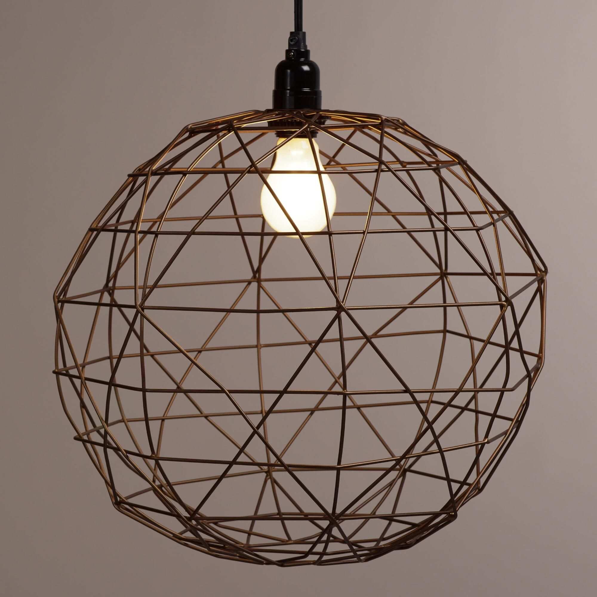add an on trend geometric element to any room with our bronze rh pinterest com how to wire a pendant lamp wiring a hanging lamp