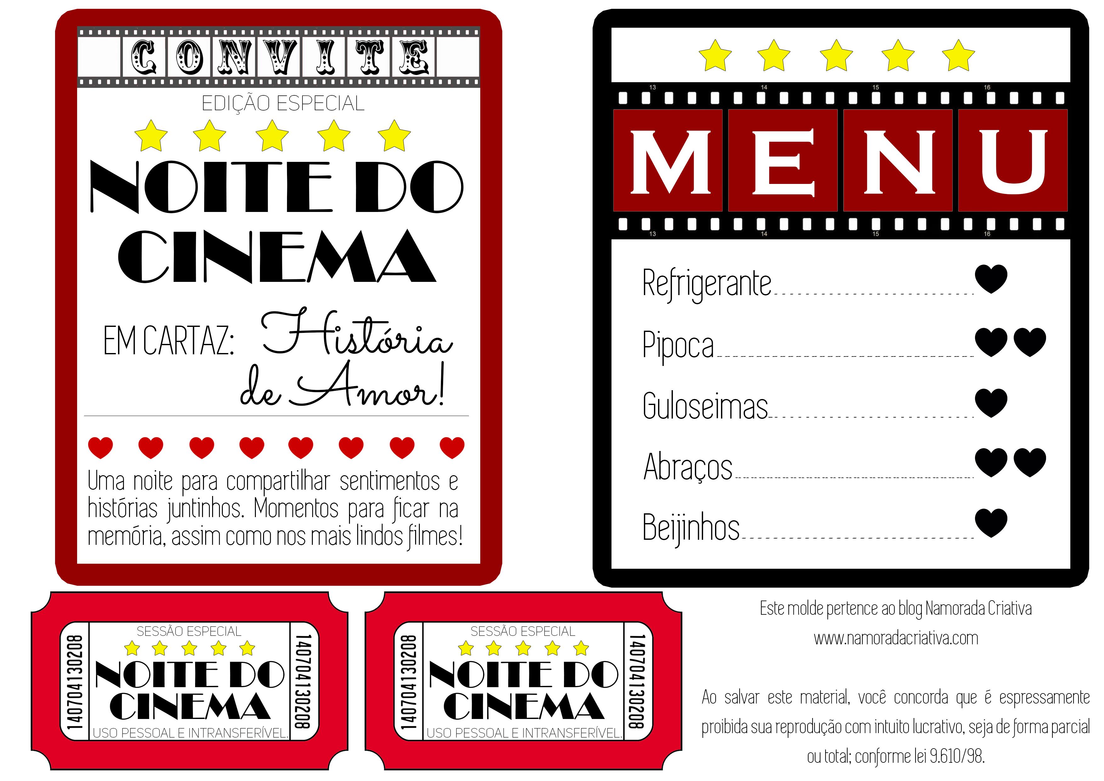 080658c9a Cinema em casa a dois | Presentes criativos | Cinema em casa, Jantar ...