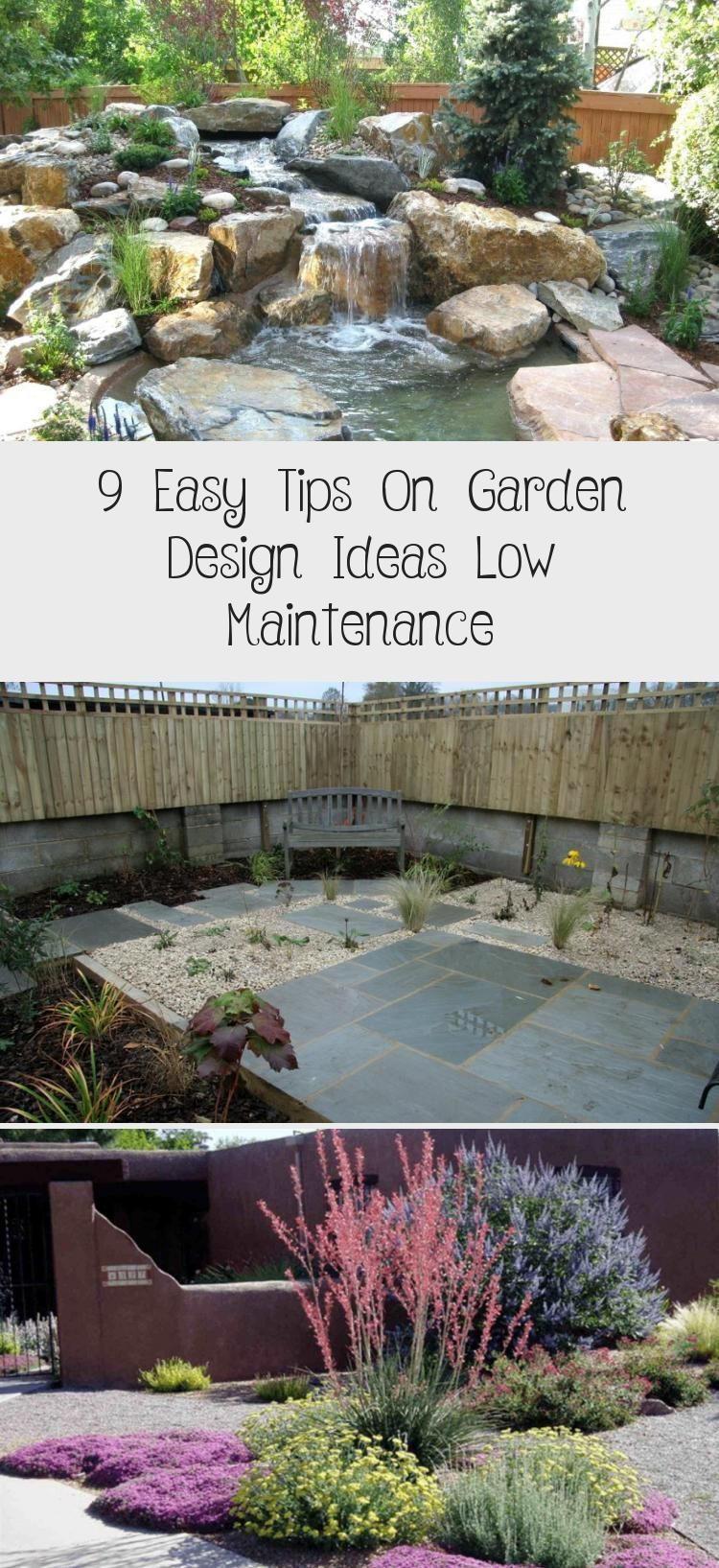 9 ideas for small, cheap and low maintenance gardens #low #ideas #small #beautifull #garden     Especially in a lovingly designed and maintained garden, an unused and unsightly corner can be very annoying. If this is also not suitable for planting due to unfavorable location conditions, one wonders what else to do with this dead corner. But there are some possibilities that you may not have come across yet and that you might consider. O... #beautif #Cheap #Gardens #Ideas #maintenance #Small