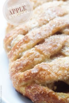30-Minute Apple Strudel via Real Food by Dad