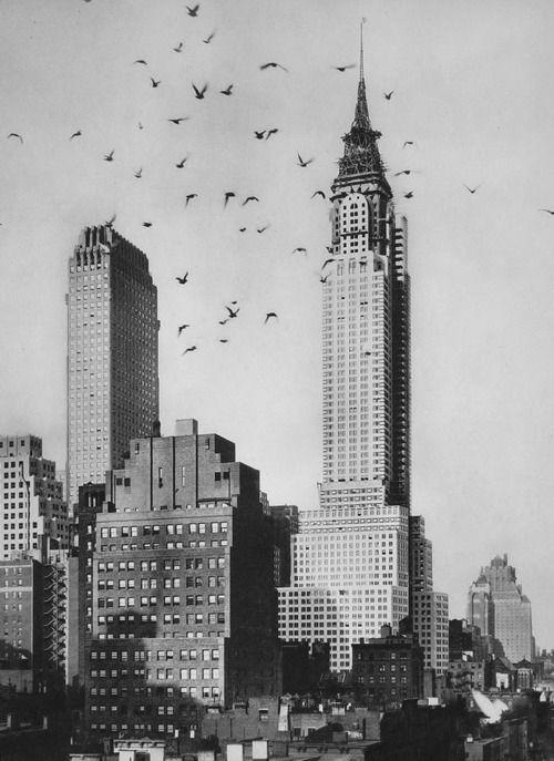 Chrysler Building Nyc New Yorkhistoric 1929 1930 Photo Via