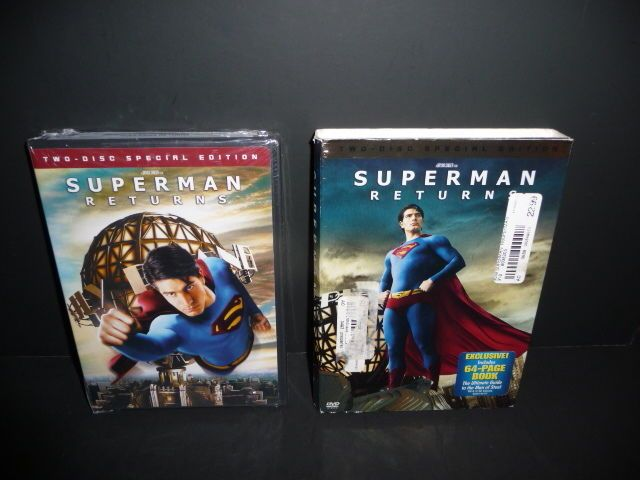 Superman Returns 2-Disc Special Edition (Dvd,2006) Exclusive