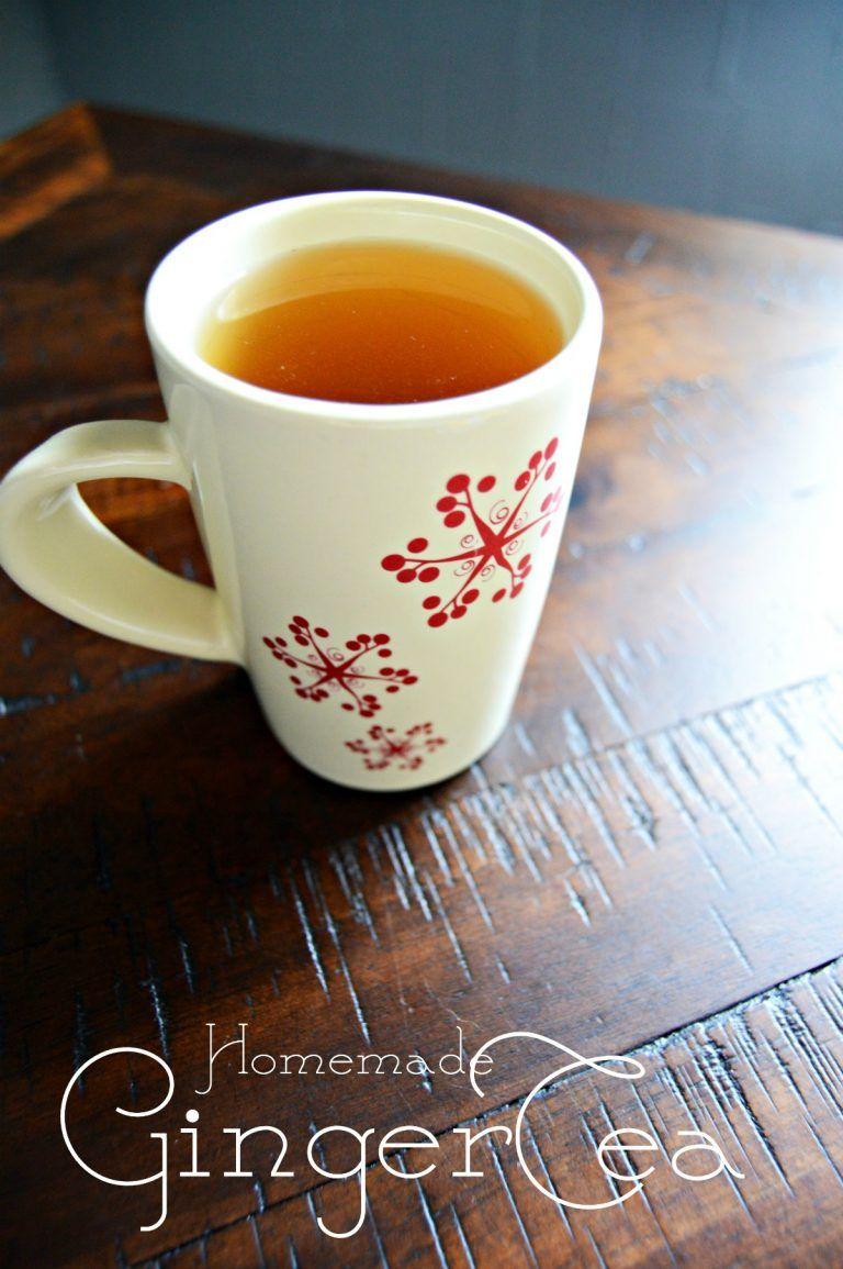 How to Make Ginger Tea Ginger tea, Homemade ginger tea