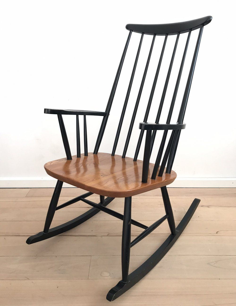 For sale Rocking chair by Ilmari Tapiovaara for Pastoe, 1960s