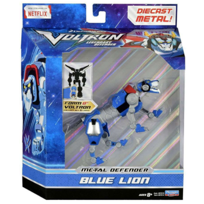 BLUE VOLTRON LION **NEW**  Die Cast Metal Action Figure AWESOME