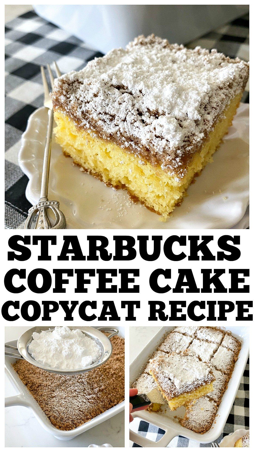 Coffee Cake Starbucks